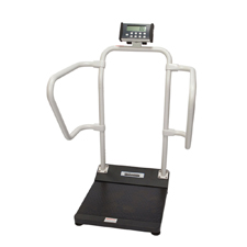 Bariatric digital stand on scales for home or office use