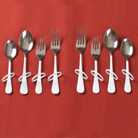 Ableware Finger Loop Utensils for the Right Hand