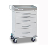 Detecto Rescue General Purpose Carts-White