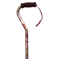 Essential Medical Supply W1540 The Cat's Meow Offset Handle Cane